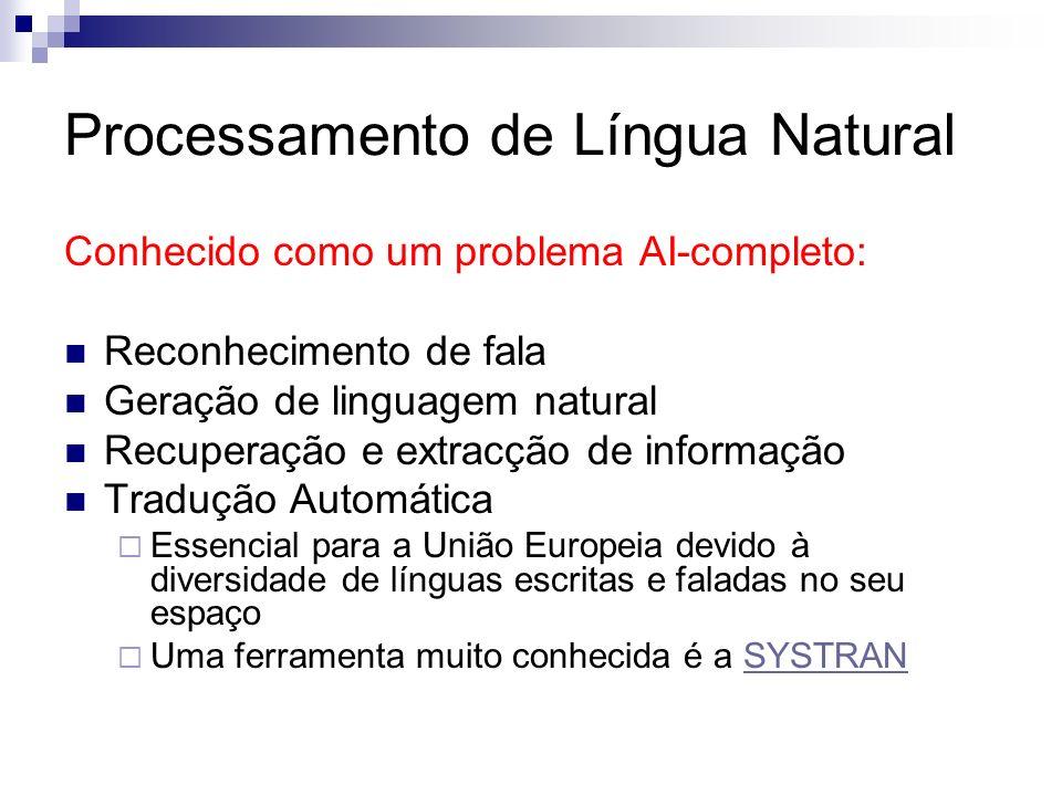 Processamento de Língua Natural