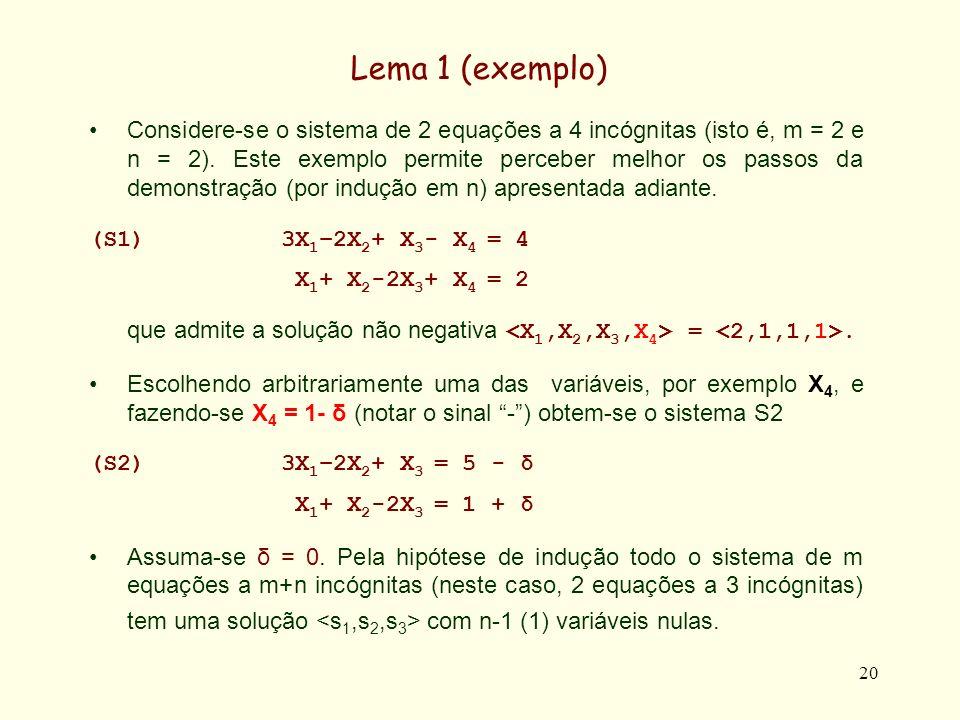 Lema 1 (exemplo)