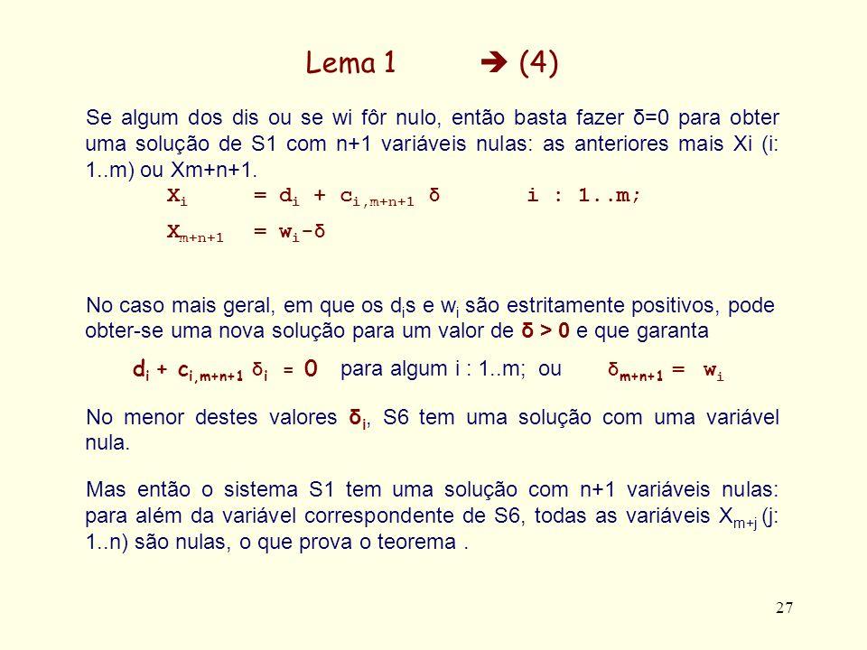 Lema 1  (4)