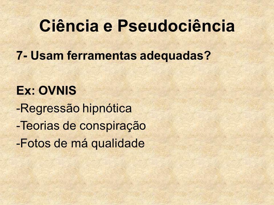 Ciência e Pseudociência