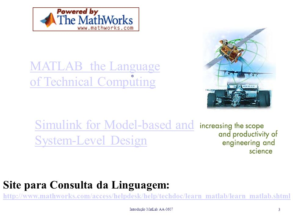MATLAB the Language of Technical Computing