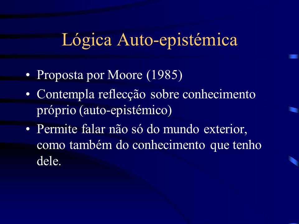 Lógica Auto-epistémica