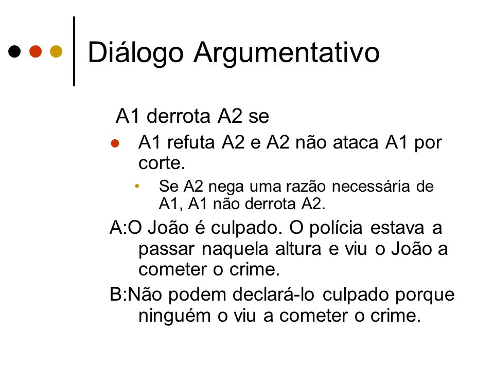 Diálogo Argumentativo