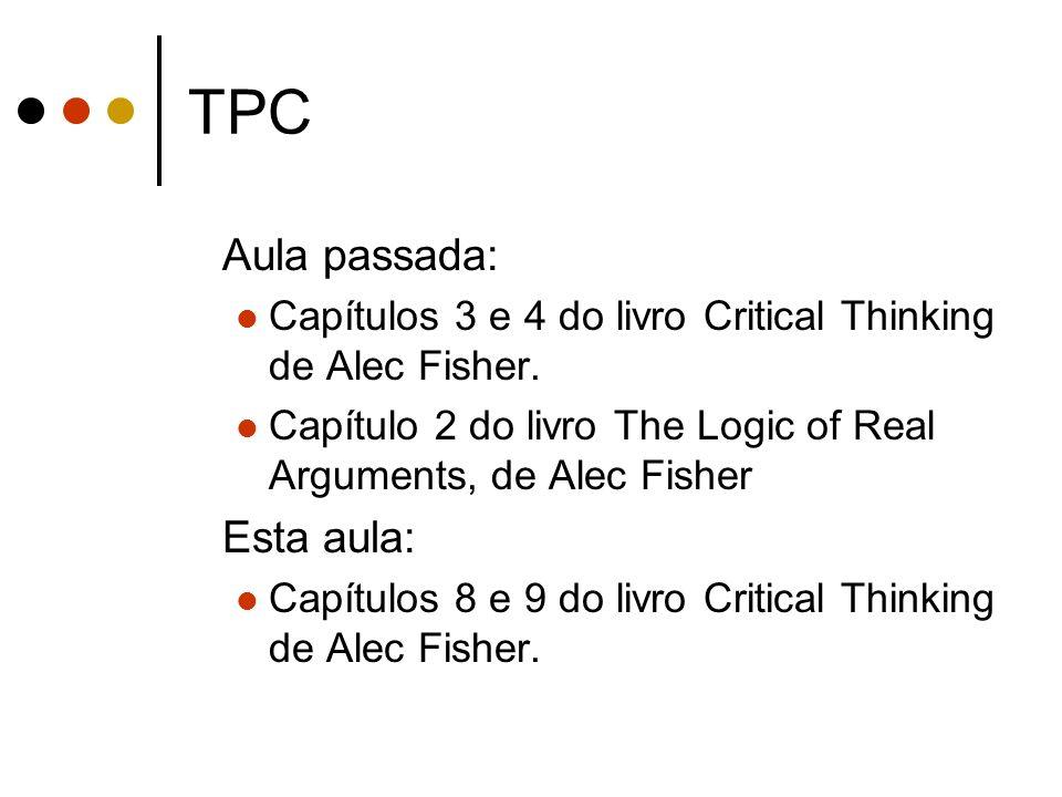 TPC Aula passada: Esta aula: