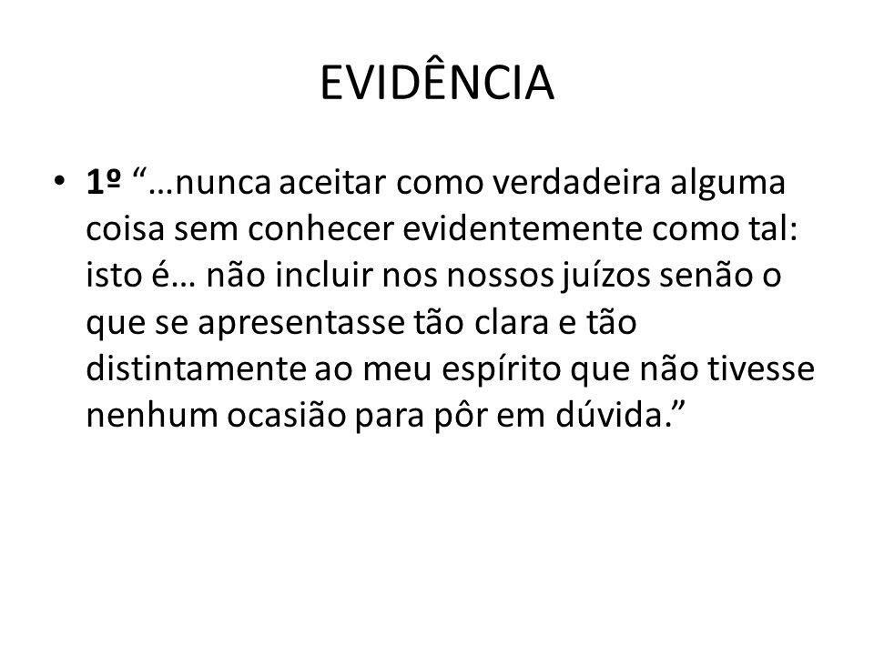 EVIDÊNCIA