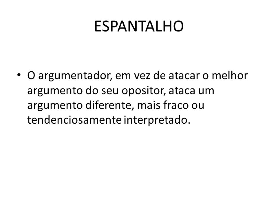 ESPANTALHO