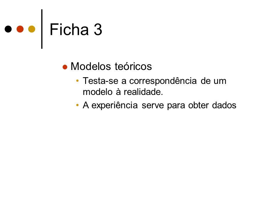 Ficha 3 Modelos teóricos