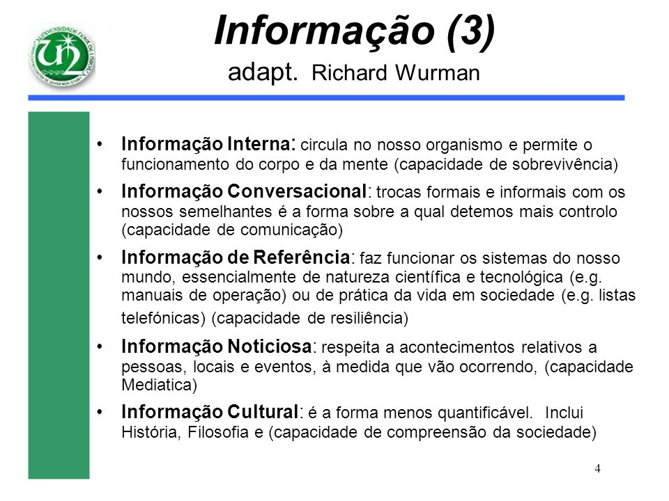 Informação (3) adapt. Richard Wurman