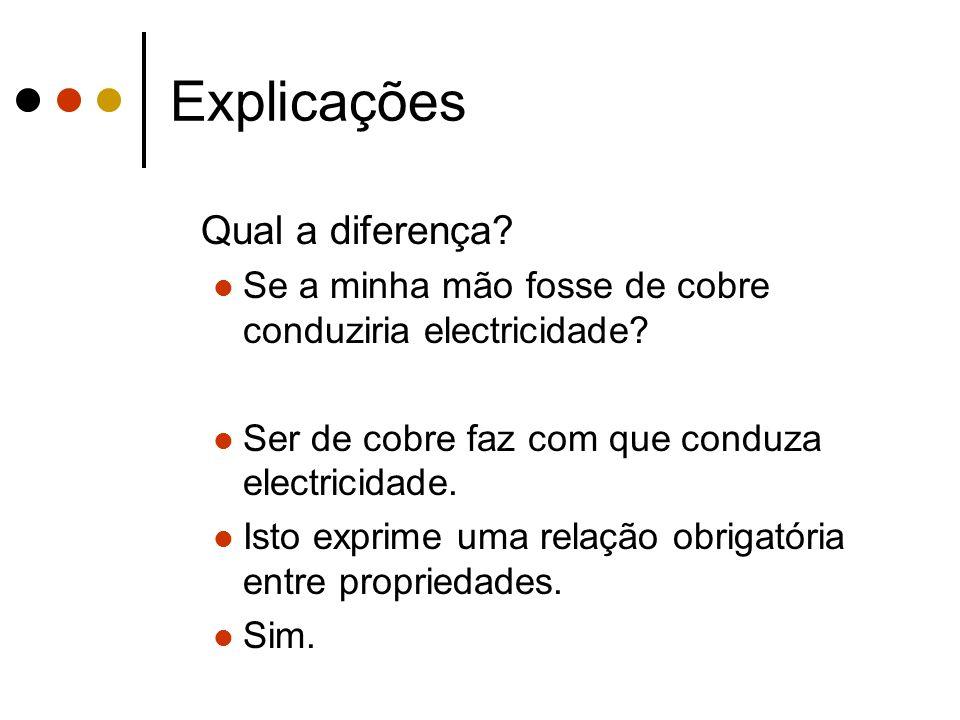 Explicações Qual a diferença