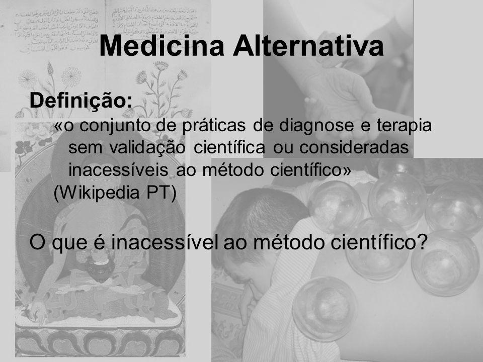 Medicina Alternativa Definição: