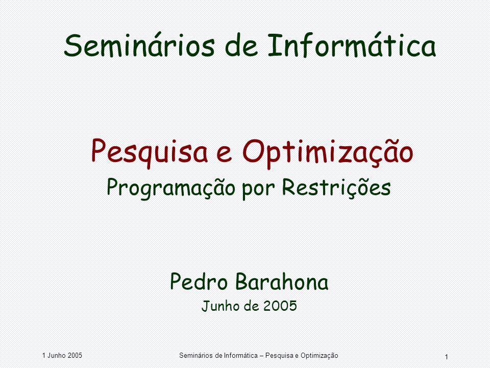 Seminários de Informática