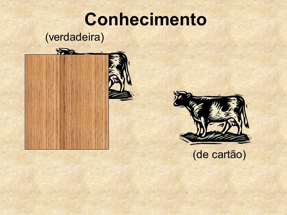 Conhecimento (verdadeira) (de cartão)
