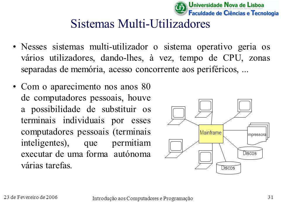 Sistemas Multi-Utilizadores
