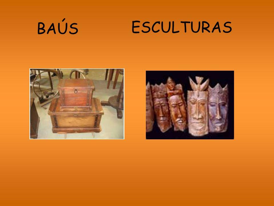 ESCULTURAS BAÚS