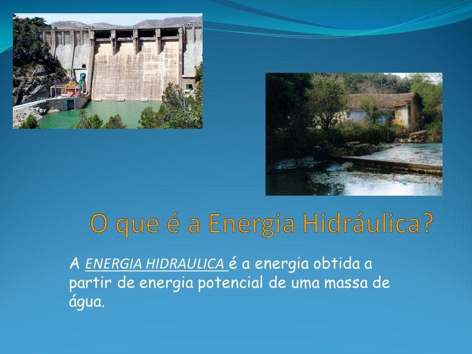 O que é a Energia Hidráulica