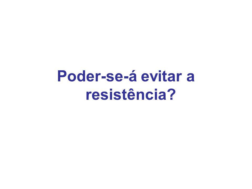 Poder-se-á evitar a resistência