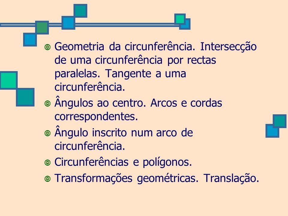Geometria da circunferência