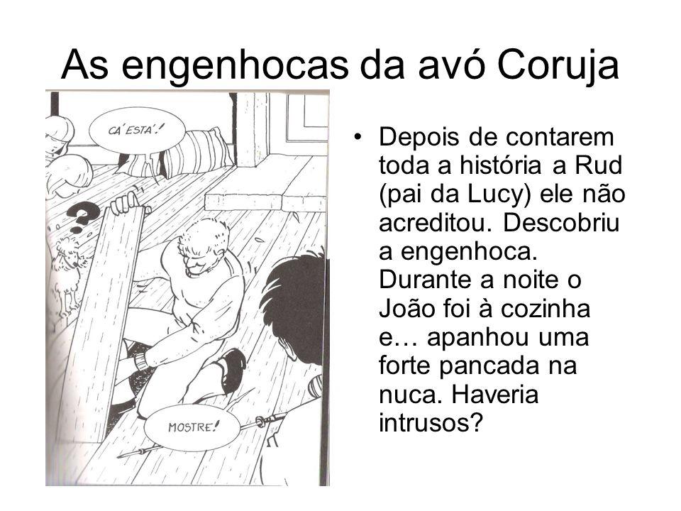 As engenhocas da avó Coruja