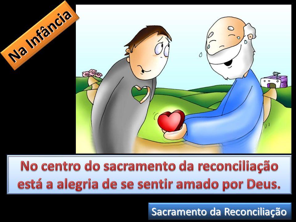 Na Infância No centro do sacramento da reconciliação está a alegria de se sentir amado por Deus.