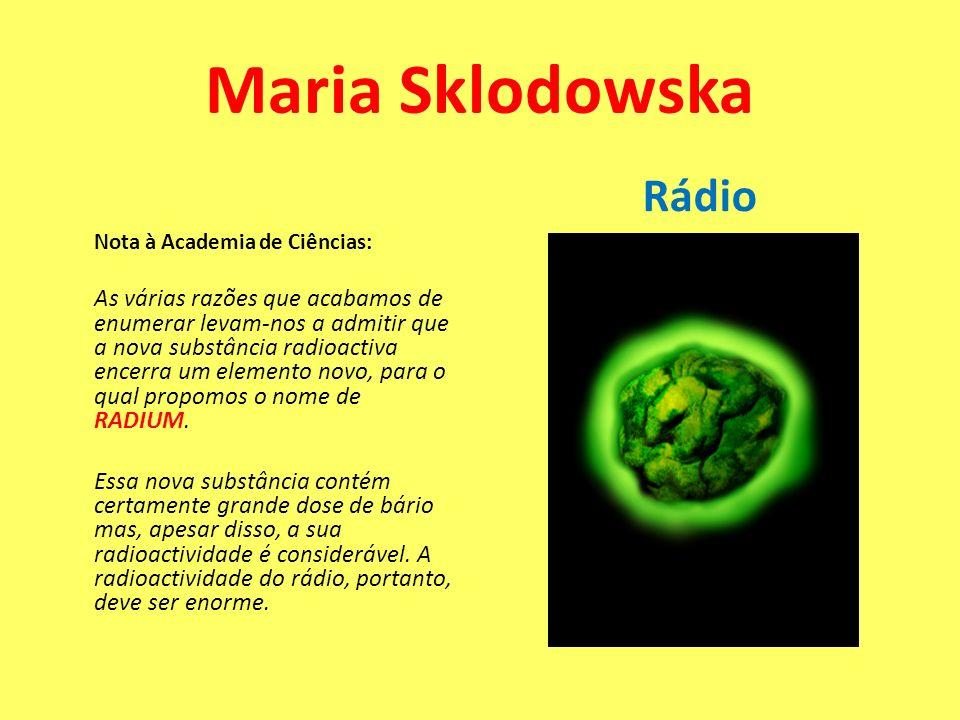 Maria Sklodowska Rádio