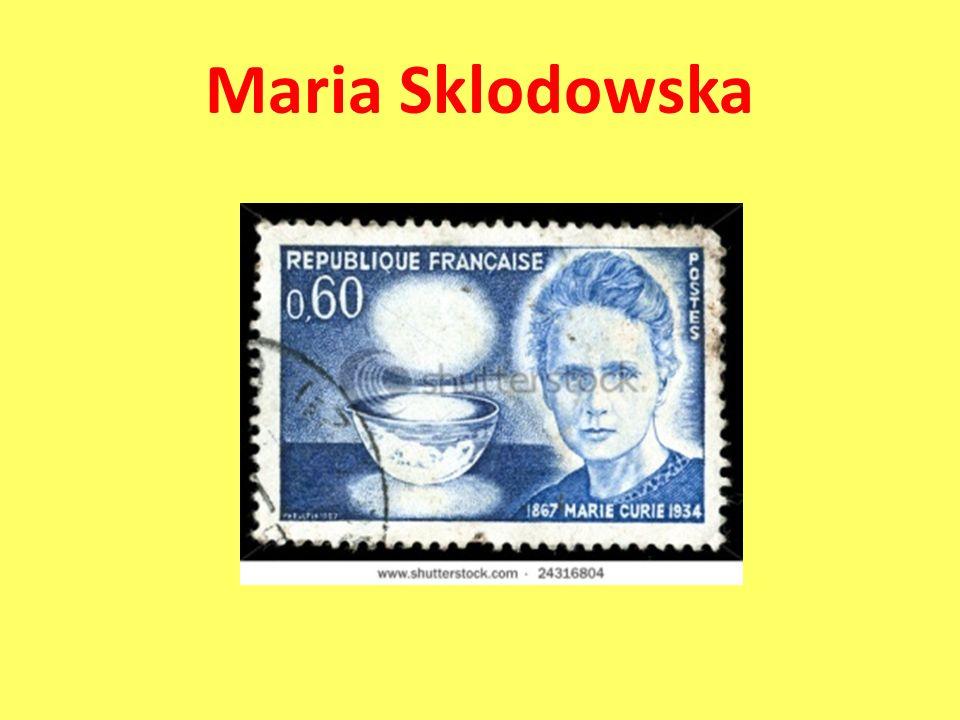 Maria Sklodowska