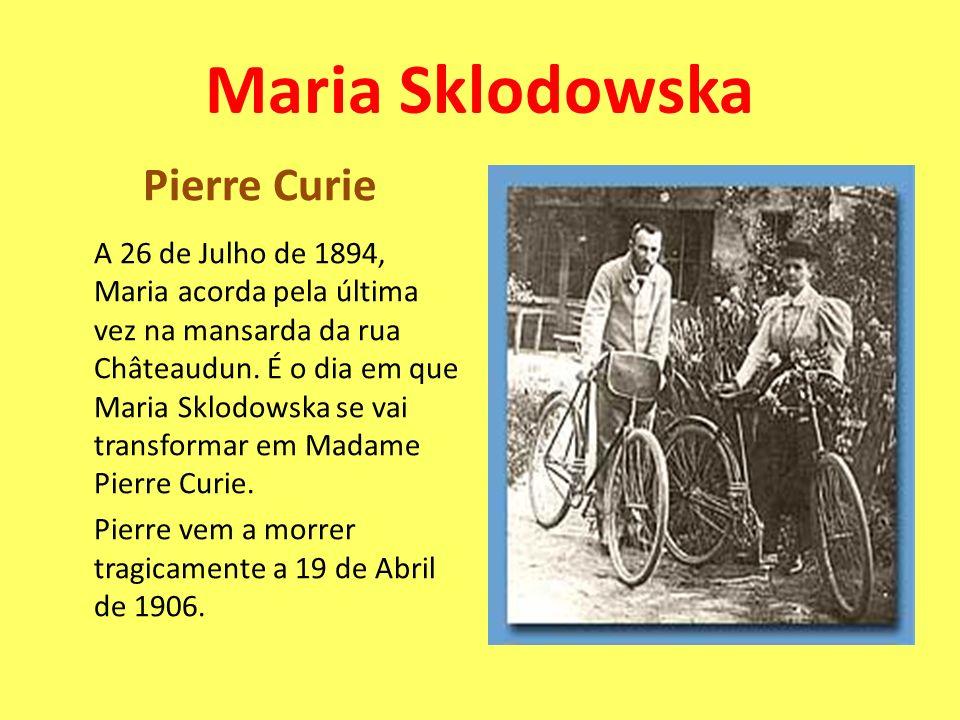 Maria Sklodowska Pierre Curie
