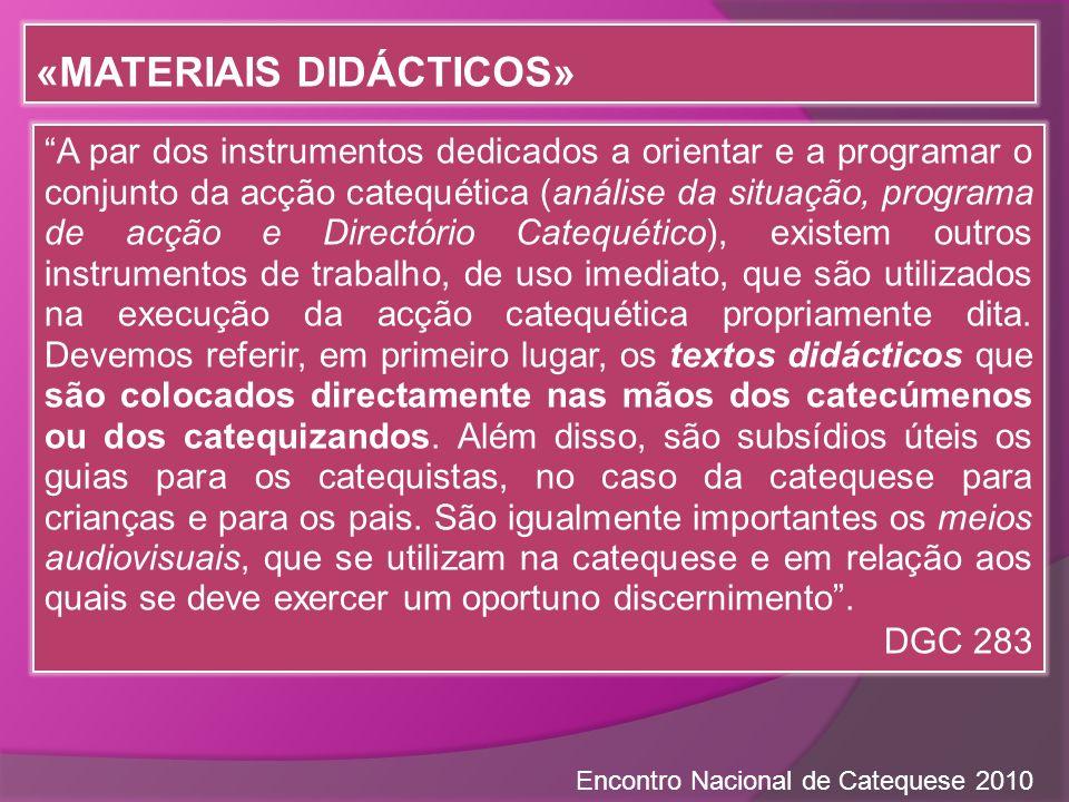 «Materiais didácticos»