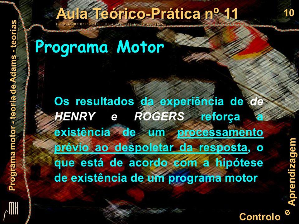 Programa Motor