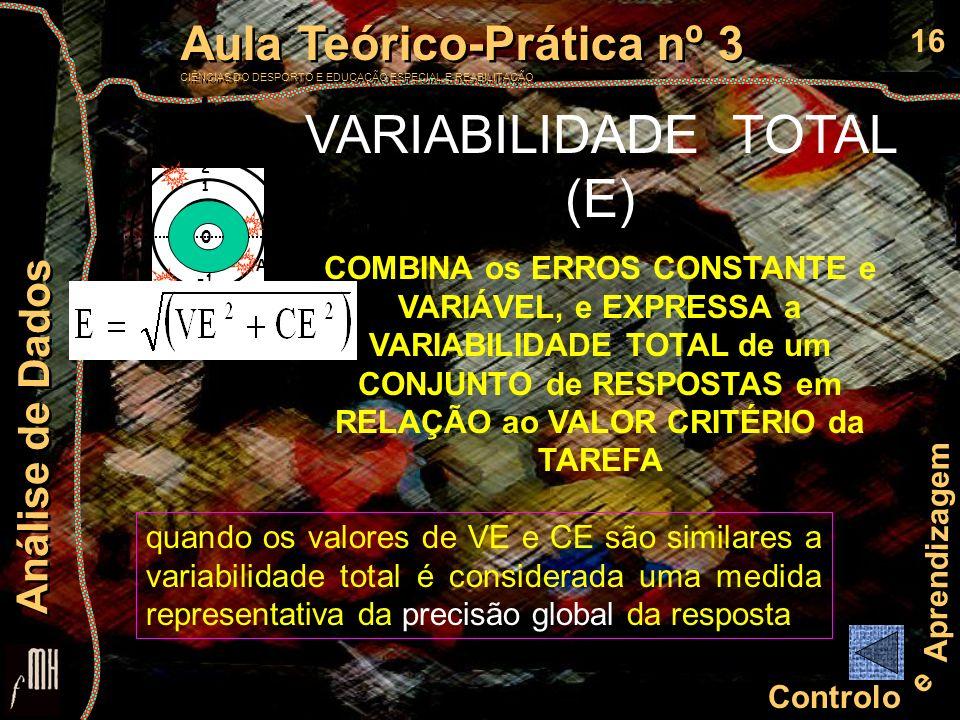 VARIABILIDADE TOTAL (E)