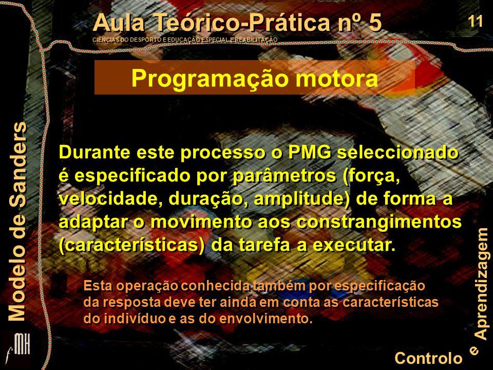 Programação motora