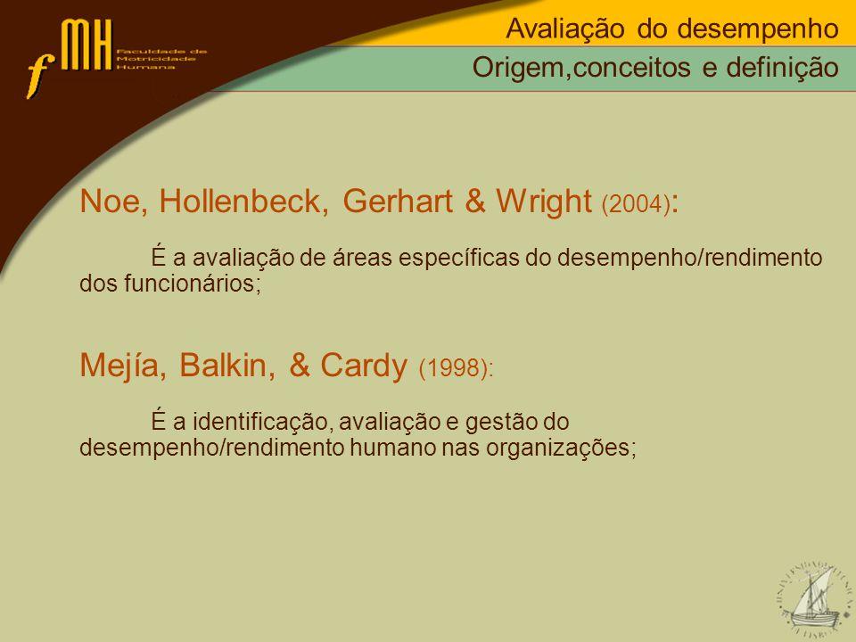 Noe, Hollenbeck, Gerhart & Wright (2004):