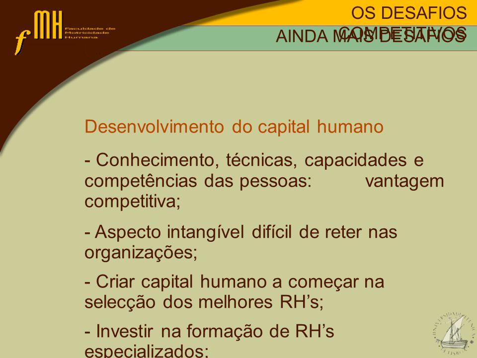 Desenvolvimento do capital humano