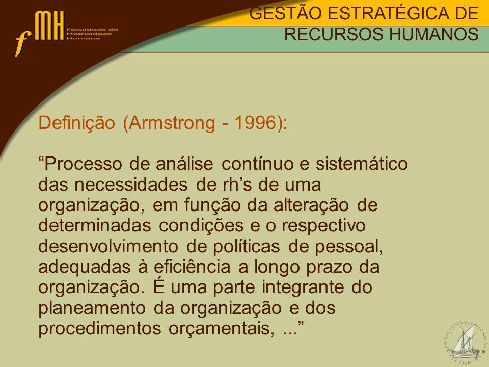 Definição (Armstrong - 1996):