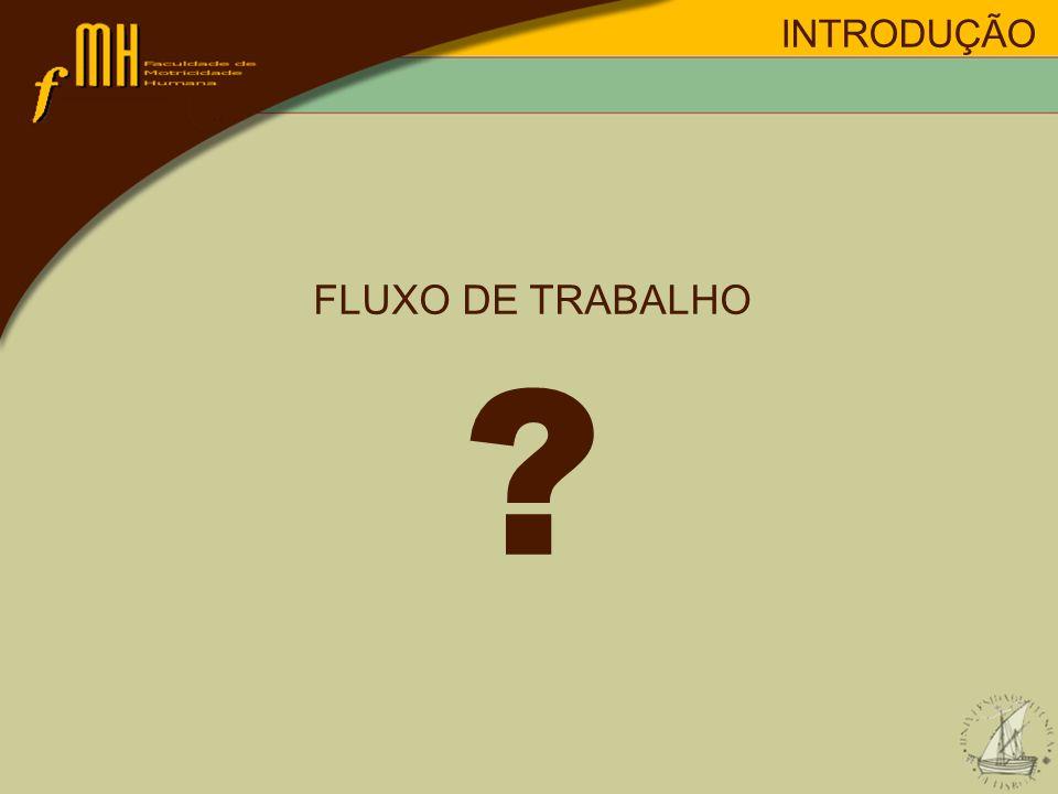 INTRODUÇÃO FLUXO DE TRABALHO