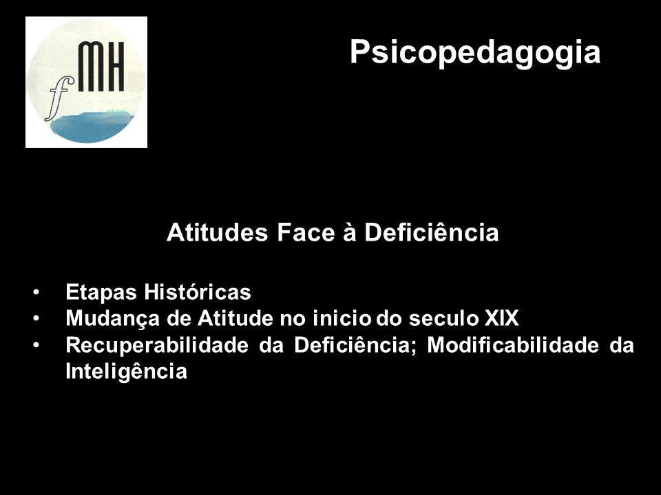 Atitudes Face à Deficiência