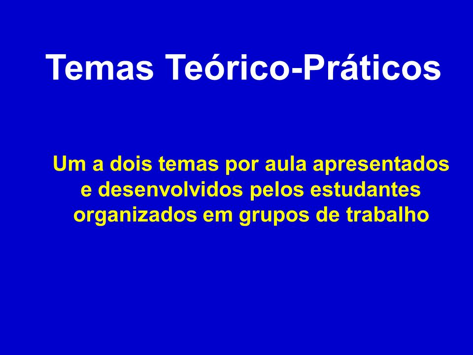 Temas Teórico-Práticos