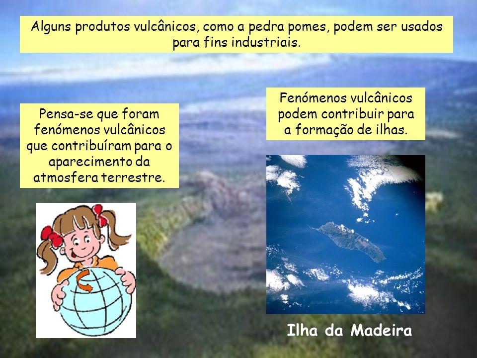 Fenómenos vulcânicos podem contribuir para a formação de ilhas.