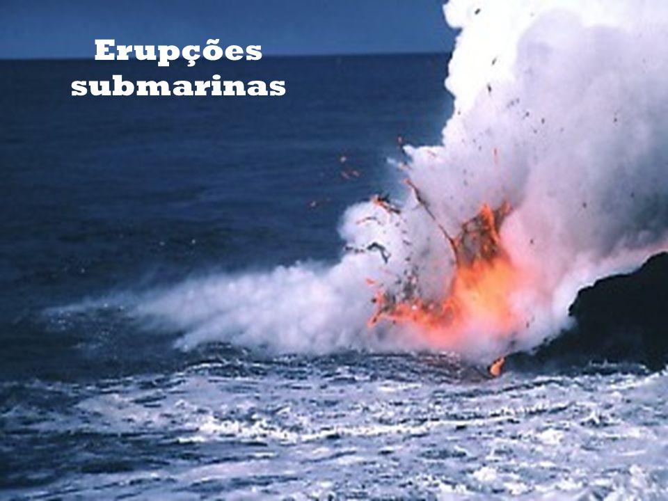 Erupções submarinas