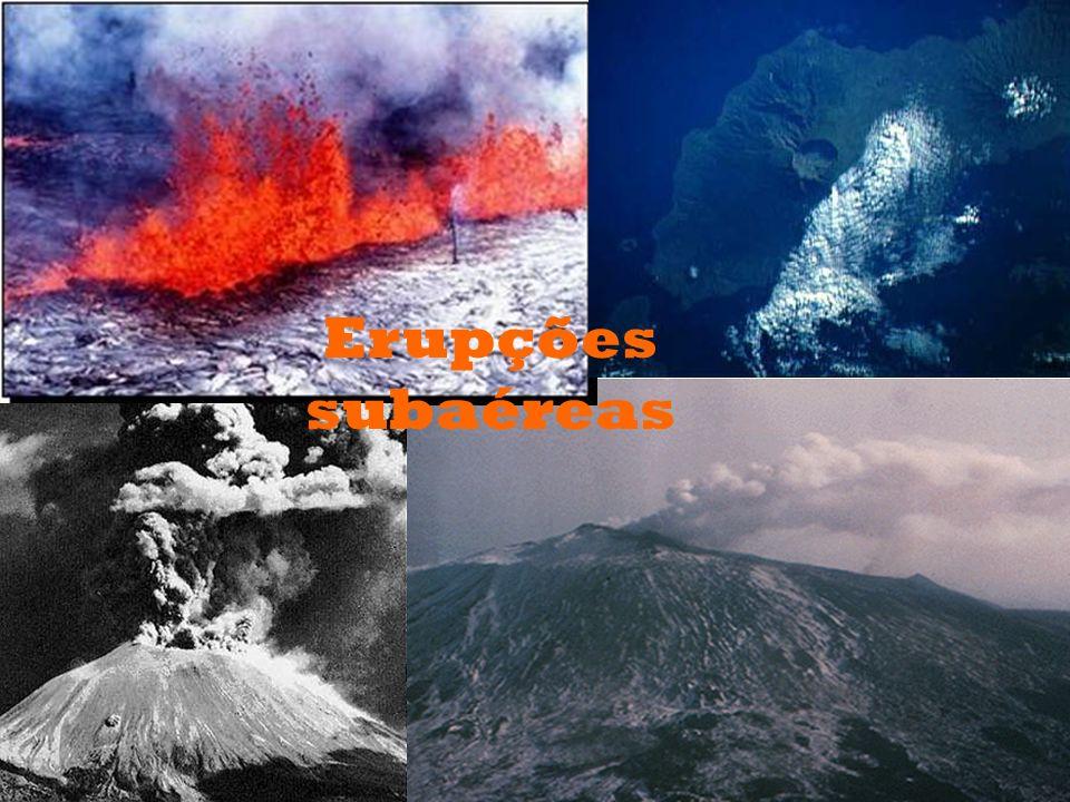 Erupções subaéreas
