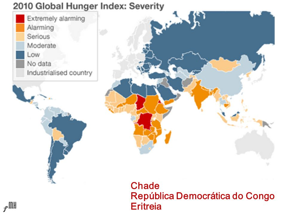 Chade República Democrática do Congo Eritreia