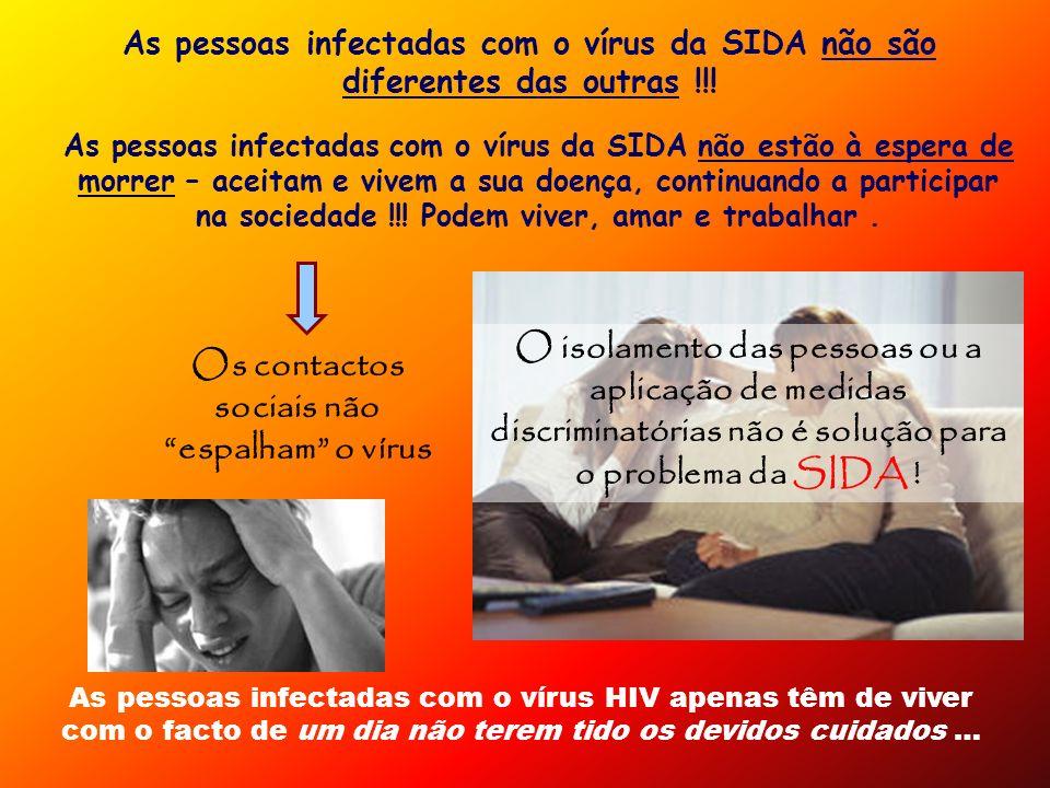Os contactos sociais não espalham o vírus