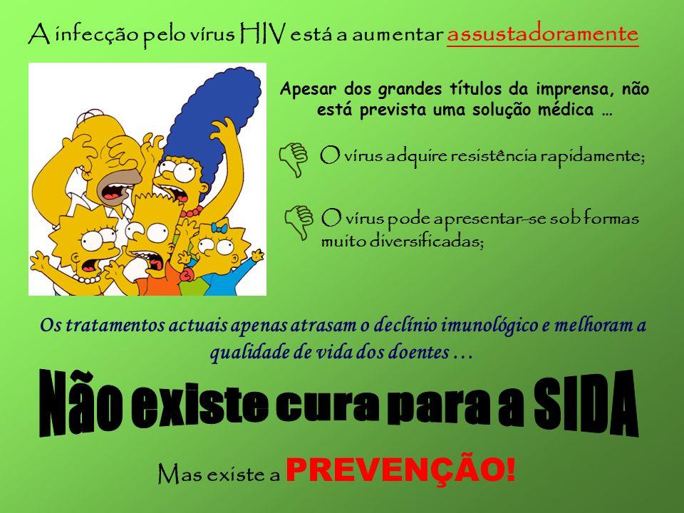   Não existe cura para a SIDA