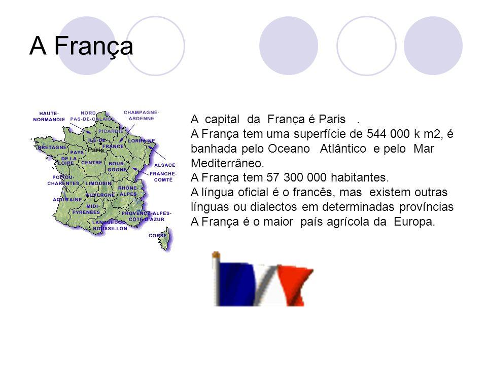 A França A capital da França é Paris .