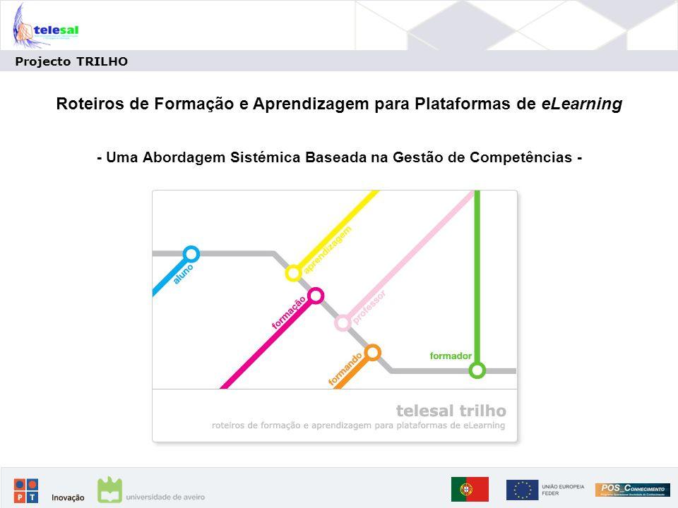 Roteiros de Formação e Aprendizagem para Plataformas de eLearning