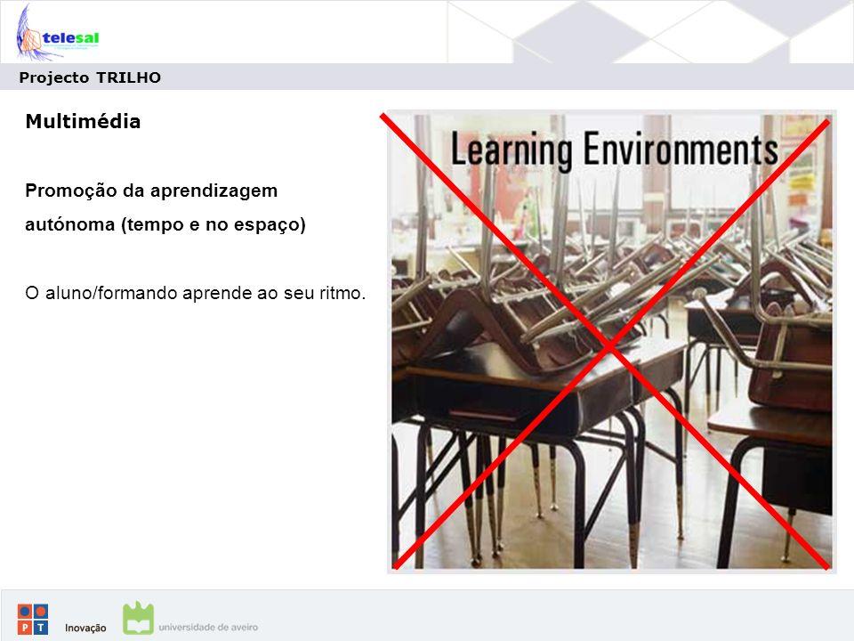 Promoção da aprendizagem autónoma (tempo e no espaço)