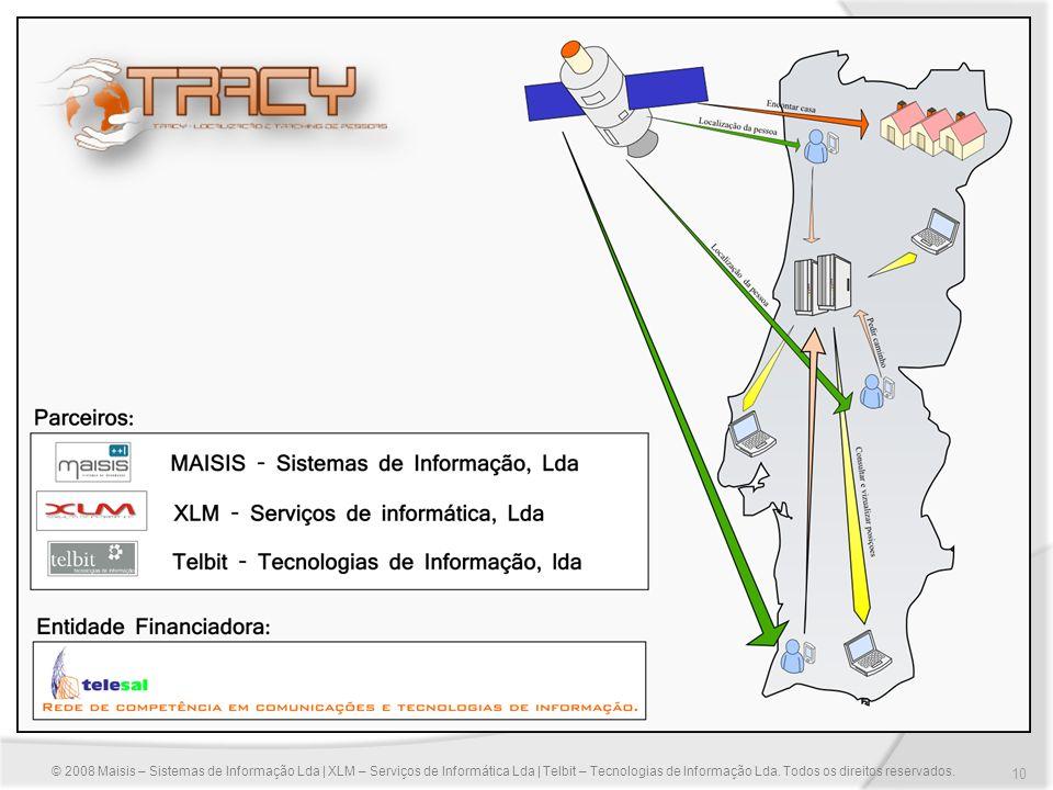 © 2008 Maisis – Sistemas de Informação Lda | XLM – Serviços de Informática Lda | Telbit – Tecnologias de Informação Lda.