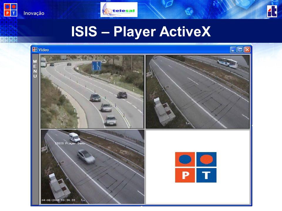 ISIS – Player ActiveX Falar do pk da necessidade de fazer um activeX;