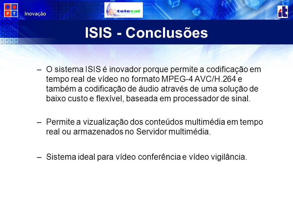 ISIS - Conclusões