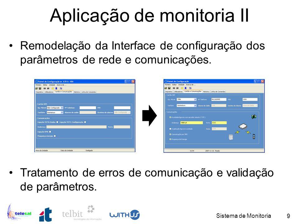 Aplicação de monitoria II