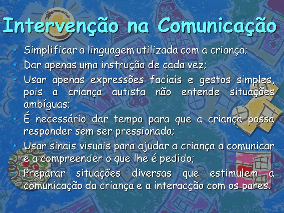 Intervenção na Comunicação
